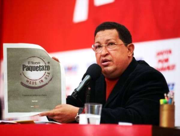Candidato de la Patria, Hugo Chávez