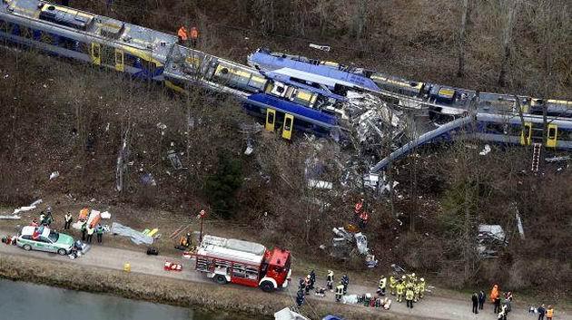 Train Clash in Germany