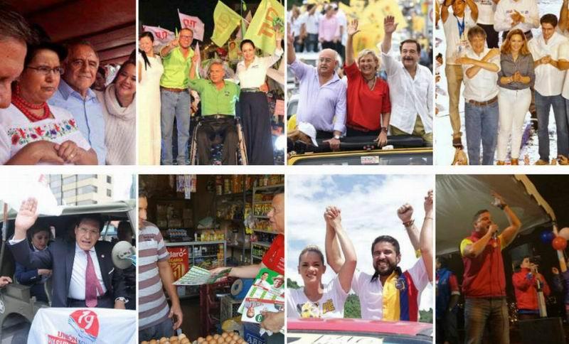 Cerró en Ecuador la campaña electoral
