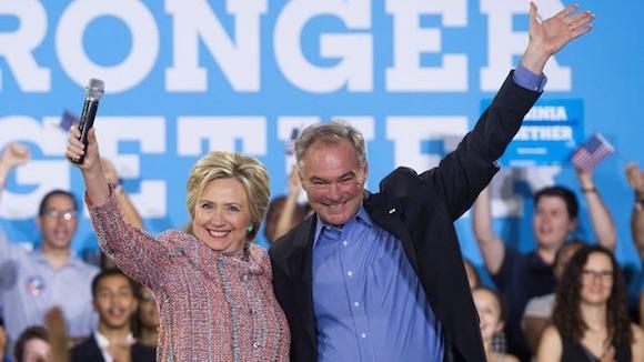 Clinton anuncia al senador Tim Kaine como su compa�ero de f�rmula electoral (+Audio)