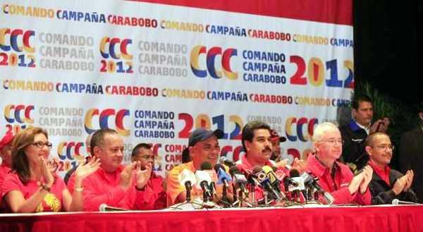 Comando Carabobo festeja triunfo en comicios regionales de Venezuela