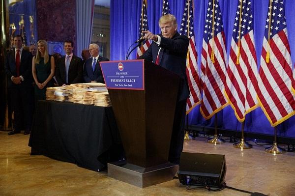 El tema ruso predominó durante la conferencia de prensa. Foto: Televisa