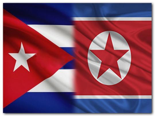 Vicepresidente cubano Salvador Valdés llegó a Pyongyang