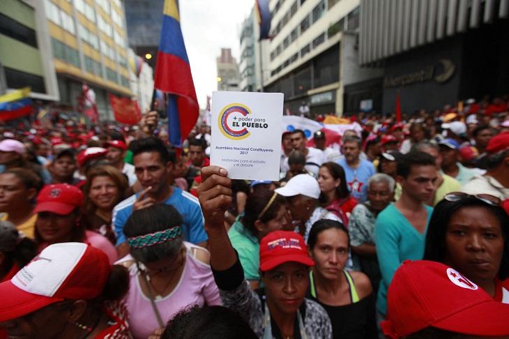 Movilizado pueblo chavista para cierre de campaña hacia la Constituyente