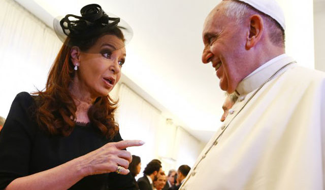 Presidenta de Argentina viajará a Cuba para misa del Papa