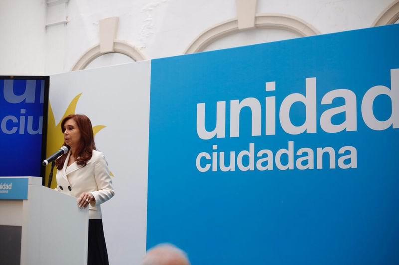 Denuncias de Cristina Fernández