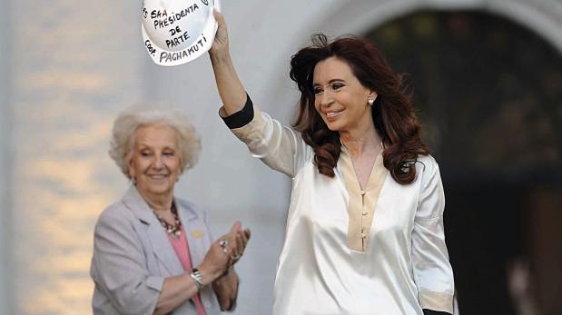 Estela Carlotto Refers to Cristina