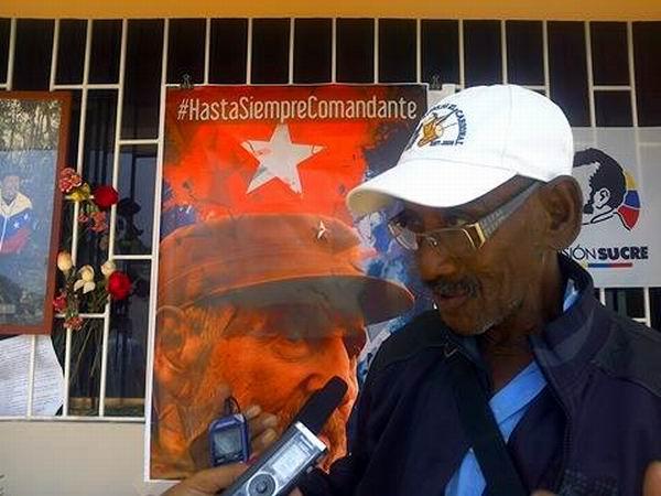 Cruz María Curbelo Álvarez sintió un estremecimiento al conocer de la muerte de Fidel