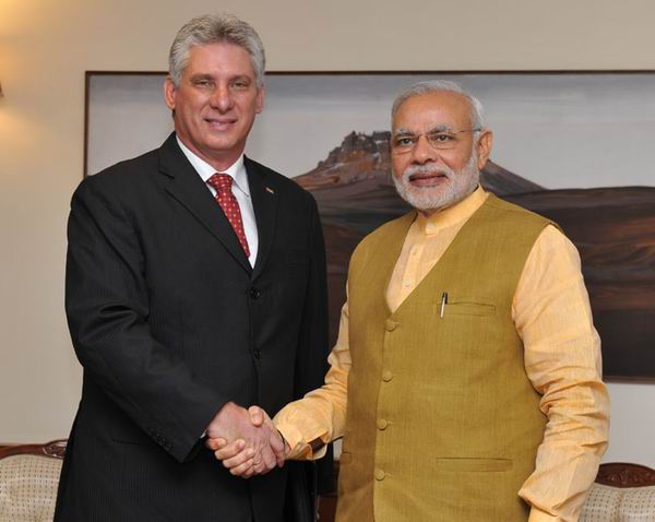 Indian PM Meets with Cuba�s First VP