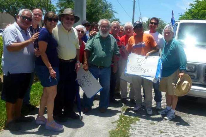 Caravana contra el bloqueo recorrerá avenidas de Miami
