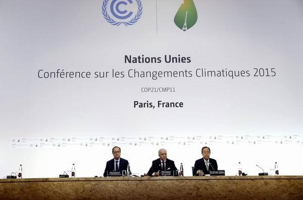 Cita mundial en Par�s por el cambio clim�tico