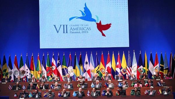 Más de 30 países participan en la histórica cumbre. Foto: cumbredelasamericas.com.pa