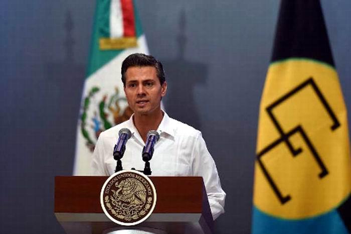 Peña Nieto se reúne con primer ministro de Belice