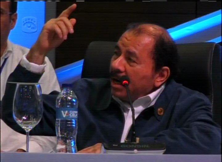 Mandatario nicaragüense Daniel Ortega