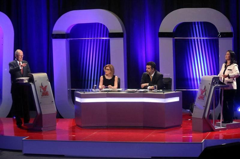 Primer debate electoral en Per�
