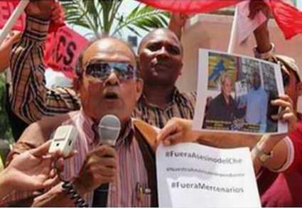 Denuncias en la Red Social Twitter en contra de la presencia del asesino del Che en Panamá