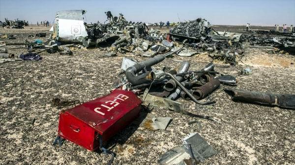 Los detalles del siniestro del avión ruso