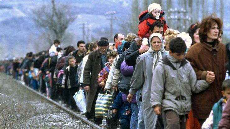 Crece número de desplazados en todo el mundo