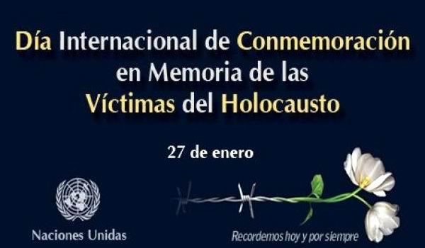Rinde ONU tributo a v�ctimas del holocausto
