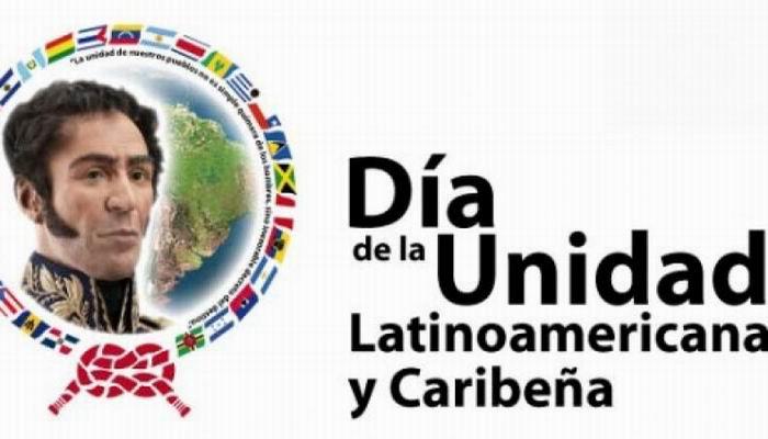 El 22 de Junio se celebra el Día de la Unidad Latinoamericana y Caribeña