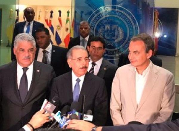 Resultado de imagen para dialogos venezuela en dominicana
