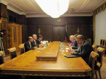 Miguel D�az-Canel destaca hermandad con Rusia