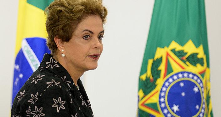 Emotiva carta de Dilma Rousseff