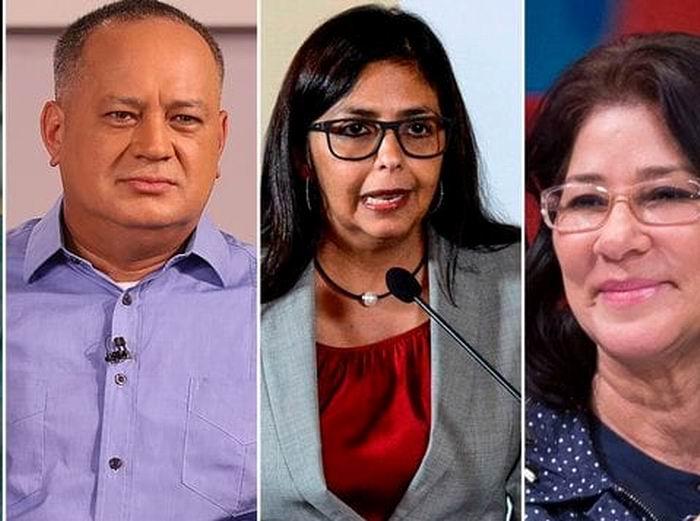 Entre los candidatos electos están la primera dama, Cilia Flores; el primer vicepresidente del gobernante Partido Socialista Unido de Venezuela (PSUV), Diosdado Cabello, y la excanciller Delcy Rodríguez