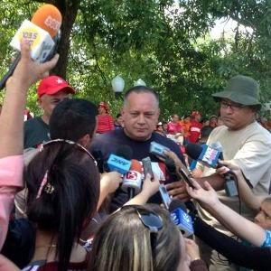 Diosdado Cabello, primer Vicepresidente del Partido Socialista Unido de Venezuela, llamó al pueblo a enfrentar los intentos desestabilizadores de la oligarquía