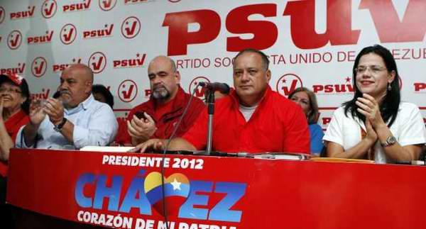 """el Primer Vicepresidente del Partido Socialista Unido de Venezuela (PSUV) Diosdado Cabello, ratificó que """"el país está listo para el nuevo período de gobierno revolucionario durante los próximos seis años. Foto: AVN"""