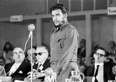 El Che y su �ltimo discurso en un evento internacional