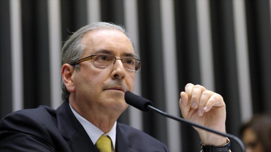 Si Eduardo Cunha habla podr�a derrumban el Gobierno de Temer