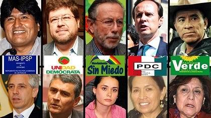 Iniciada campa�a electoral en Bolivia