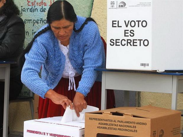 Resultado de imagen para ecuador elecciones