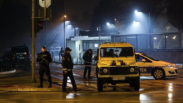 Desconocido lanza bomba contra la embajada de EEUU en Montenegro