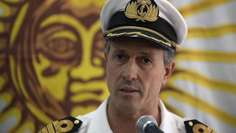 Portavoz de la Armada de Argentina, Enrique Balbi