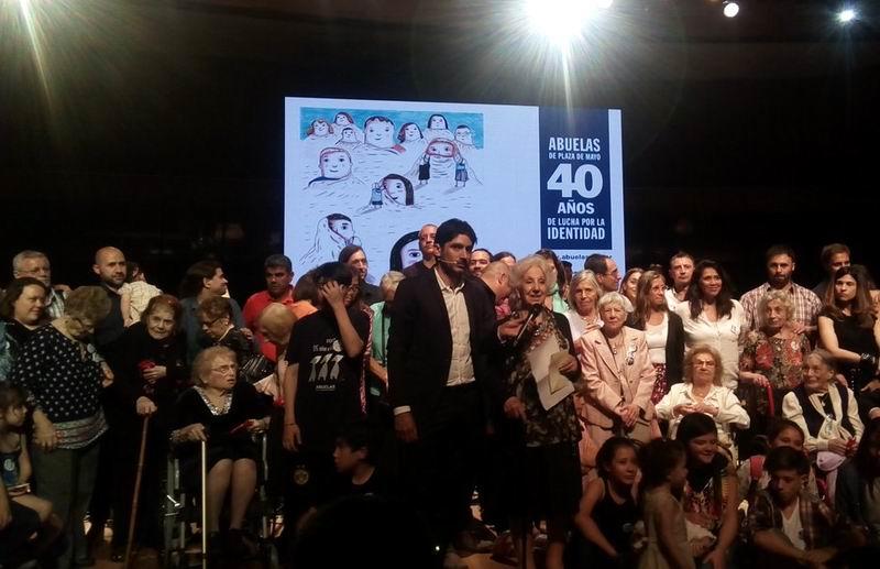 Abuelas de Plaza de Mayo anuncian la recuperación de la nieta 125
