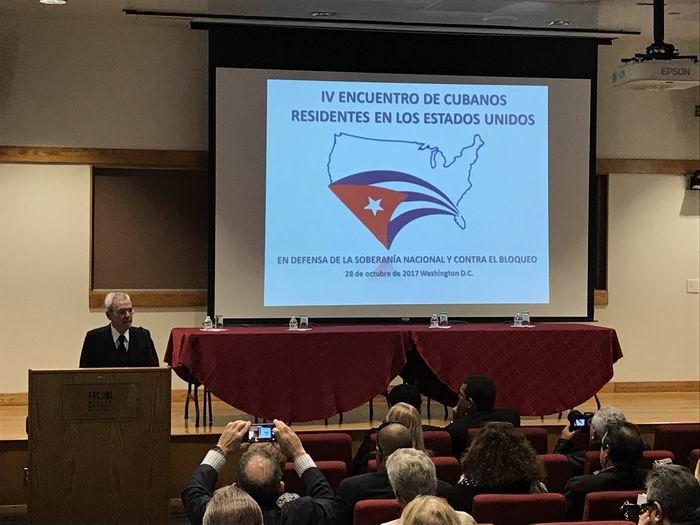El historiador de La Habana, Eusebio Leal, recordó el papel de la emigración cubana en las luchas por la independencia de Cuba