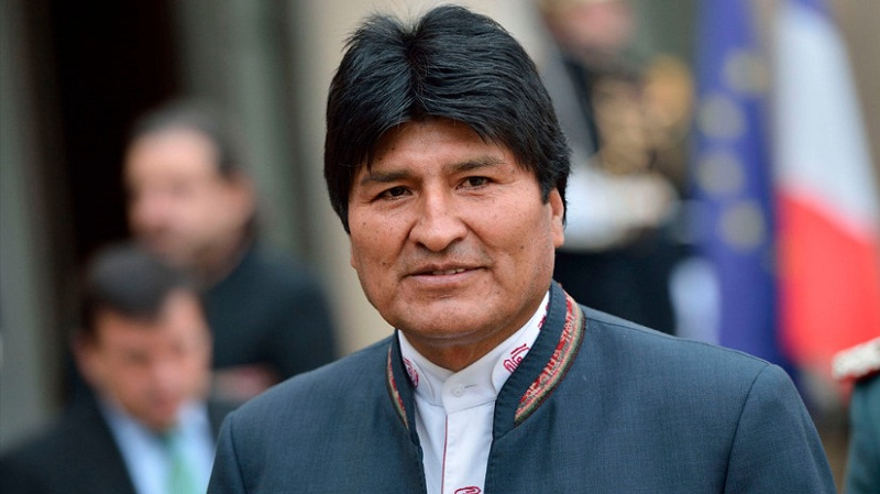 Condenó Evo Morales las acciones violentas de la oposición