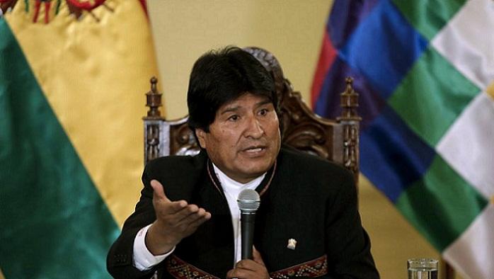 Amenazas contra el presidente boliviano Evo Morales