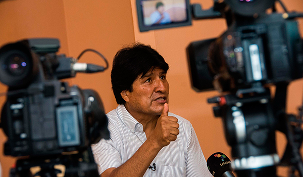 Bolivia Evo Morales thanks Cuba for medical treatment