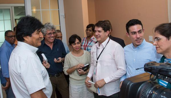 Bolivia Evo Morales thanks Cuba for medical treatment