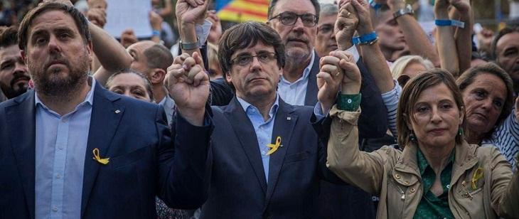 Prisión para exfuncionarios catalanes