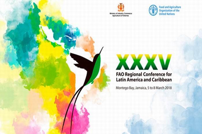 Conferencia de FAO realiza hoy en Jamaica panel sobre desarrollo
