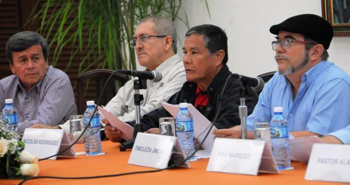 Guerrillas colombianas unen esfuerzos por la paz
