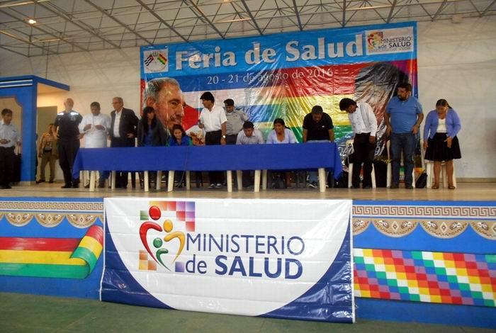 Destaca OMS labor de m�dicos cubanos en Bolivia