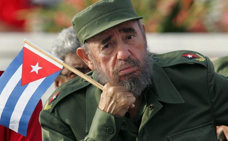 Presencia de Fidel Castro en Sochi 2017