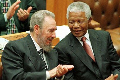 Fidel Castro: Washington and Israel Turned The Apartheid Regime in South Africa into a Nuclear Power