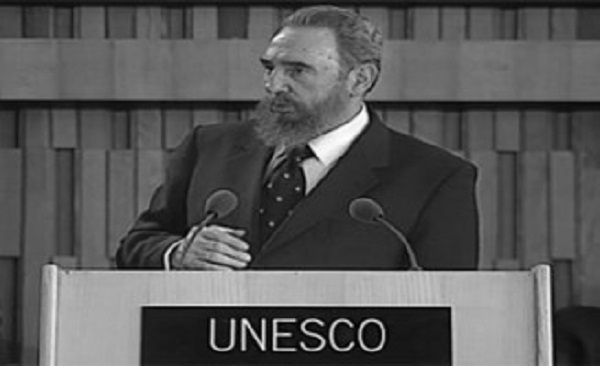 Define Unesco a Fidel como emblemático hombre de Estado del siglo XX
