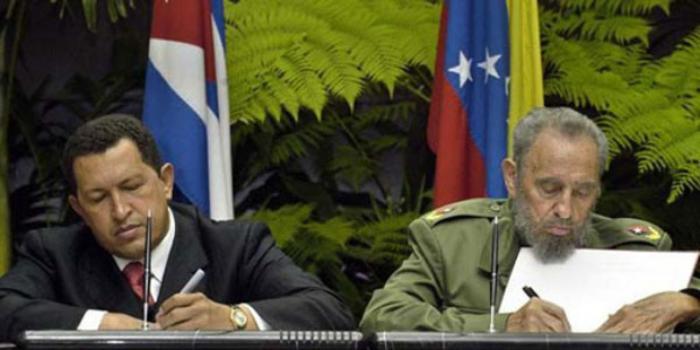 Fidel y Chávez ALBA-TCP
